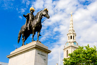 King George IV and St Martin-in-the-Fields