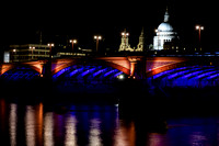 Blackfriars Bridge and St Paul's Cathedral