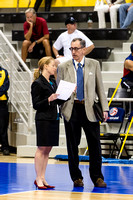 USA Volleyball Manager Melissa Weymouth and CEO Doug Beal