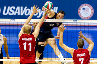 2012 NORCECA Olympic Qualification- USA Men's vs Canada (Gold Medal)